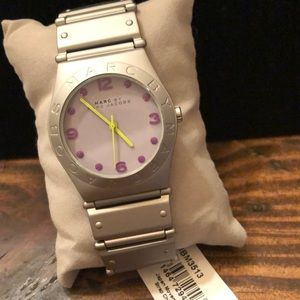 Marc by Marc Jacobs Brushed Silver Watch MBM3513